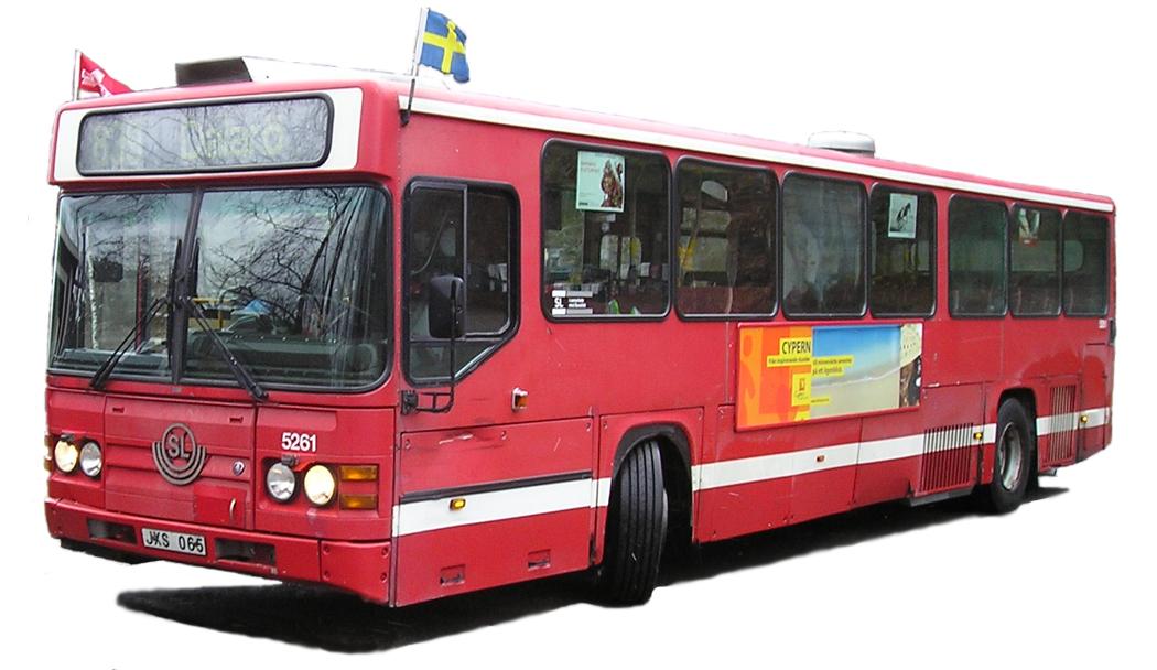 SL H16 5261 / Keolis 5261 – 1999