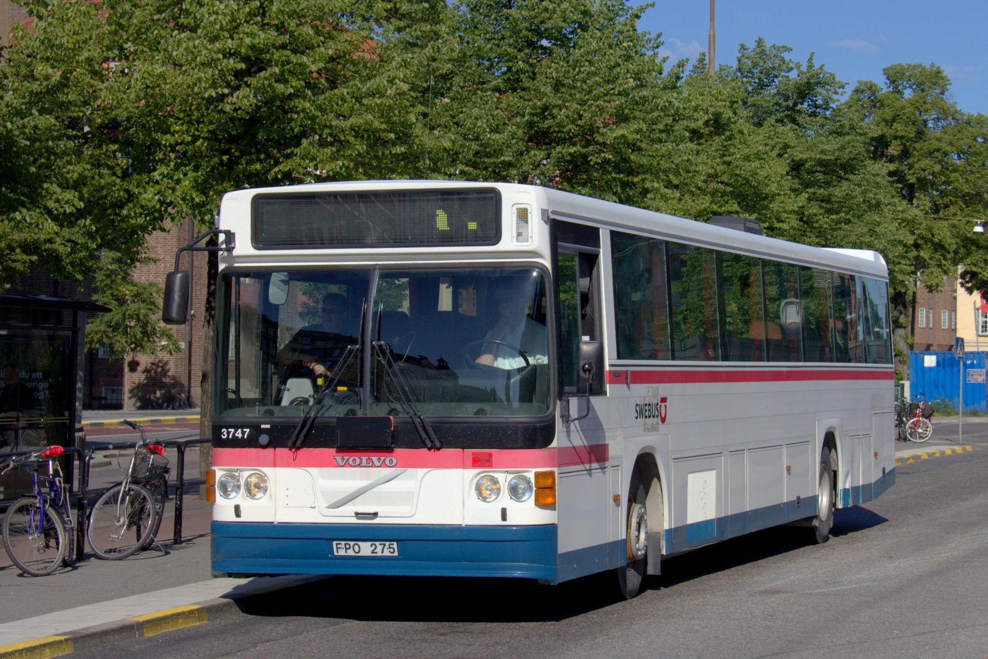 SJ / Swebus 3747 – 1995